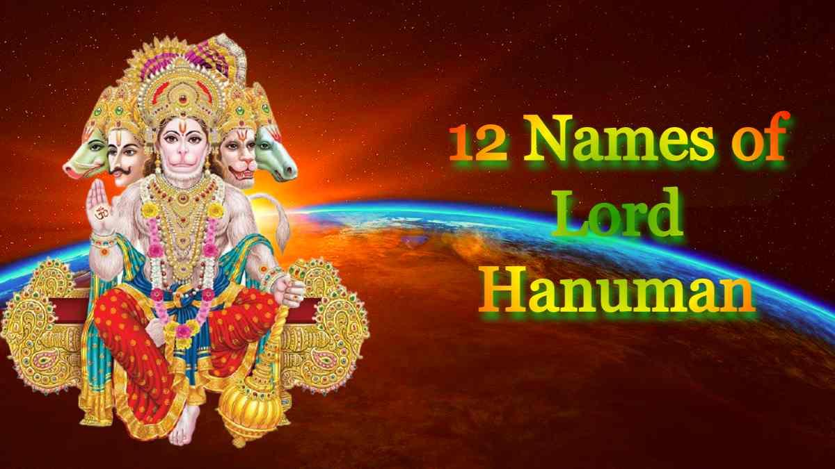 12 Names of Lord Hanuman