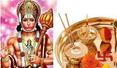 Hanuman Puja Samagri